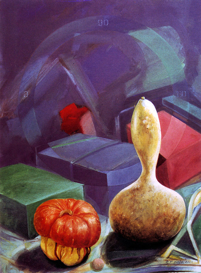 STILL LIFE, 2001, oil on canvas, 50x75 cm Expandnext
