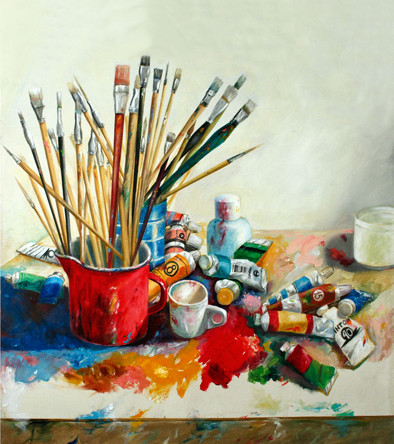 MY TOOLS, 2006, oil on canvas, 50x50 cm Expandnext