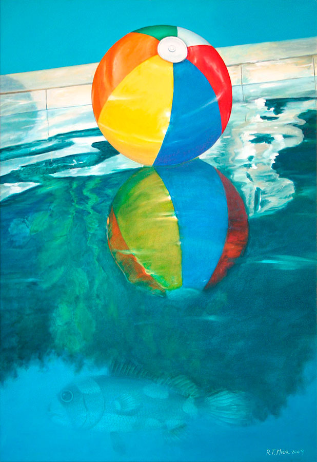 GLARE, 2009, oil on canvas, 50x70 cm Expandnext