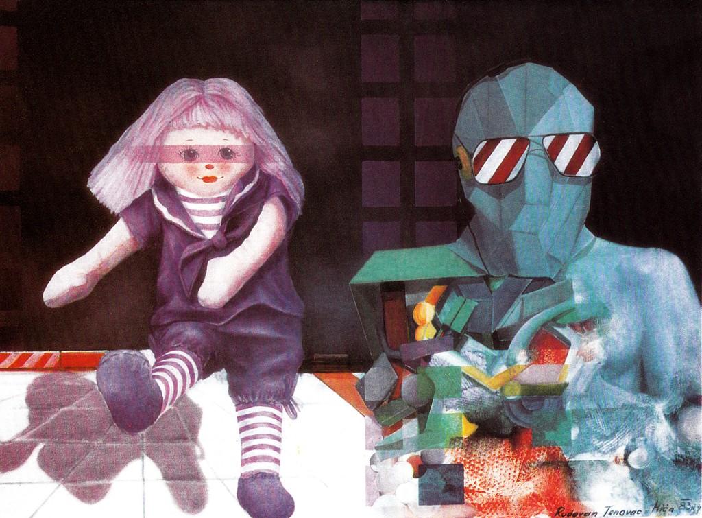 03.Igra U Novom Vremenu, 1978, Ulje Na Platnu, 62x46 Cm