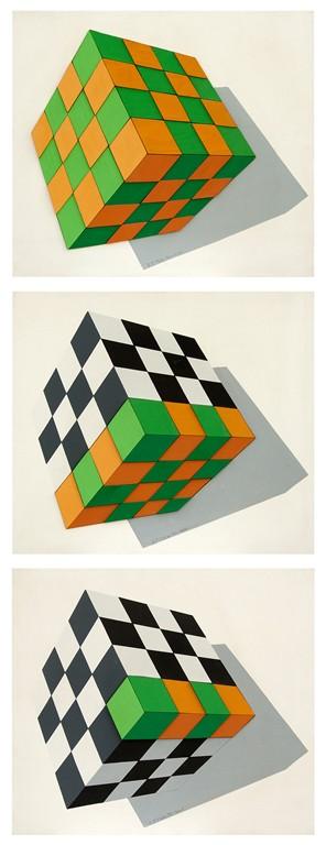 10.Aluzija Na Iluziju, 1996, Drveni Objekat, 3x52x60 Cm