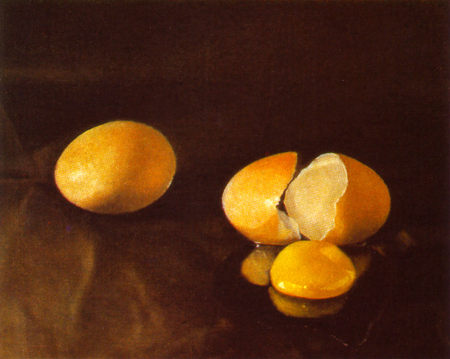 STILL LIFE, 1974, oil on canvas, 39x30 cm
