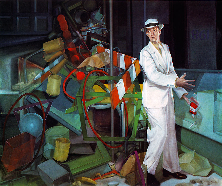 MIDNIGHT MAN, 1981, oil on canvas, 150x165 cm