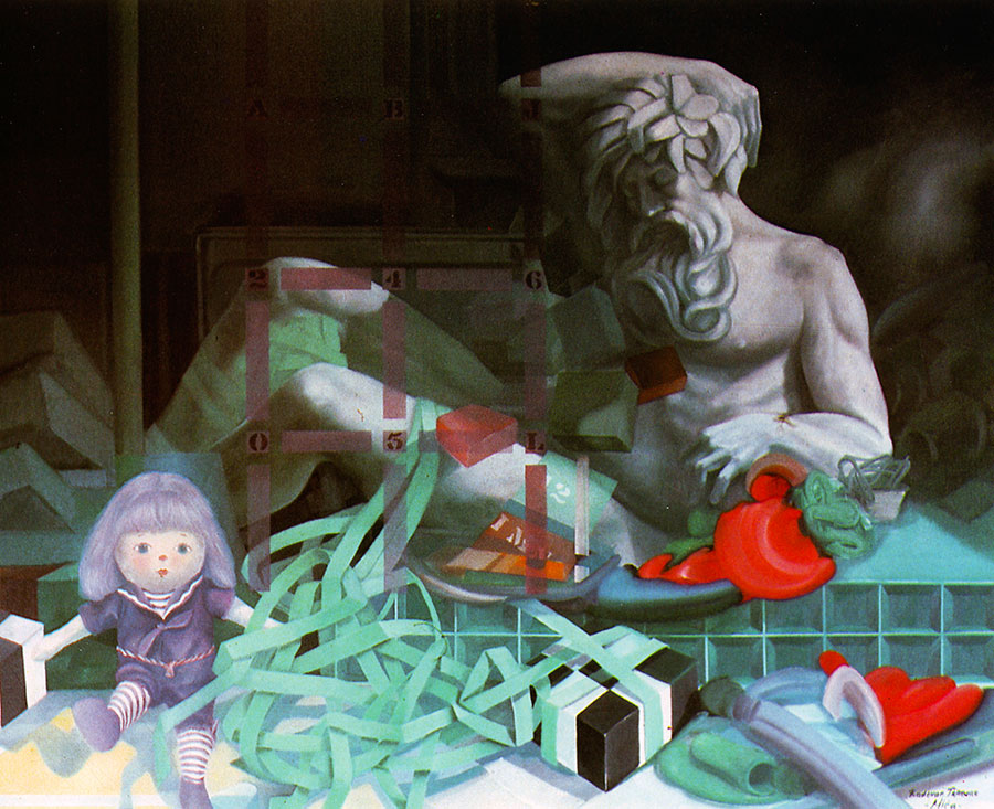 MY TOYS, 1983, oil on canvas, 66x77 cm